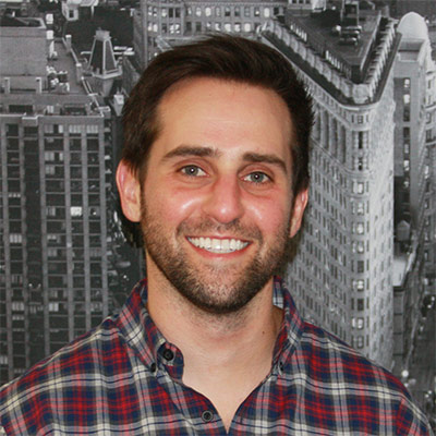 Candid portrait of Aron Susman, CFO