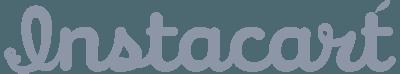 Instacart logo gray