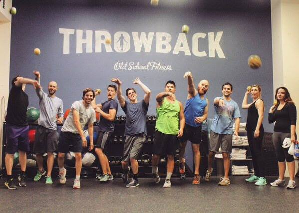 SquareFoot team bonding at Throwback Fitness